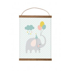 Poster Feest Olifant (A4)