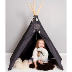Hippie Tipi Tent - Anthracite