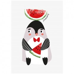 Poster Jummy Pinguin (A3)