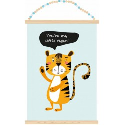 Poster Little Tiger (A3)