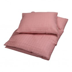 Filibabba - Bed Linen 100 x 140cm - Muslin junior dusty rose - One size