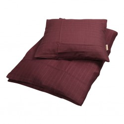 Filibabba - Bed Linen 70 x 100cm - Muslin Plum - One size