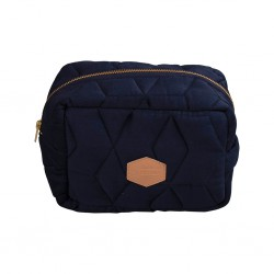 Filibabba - Little bag - Soft quilt Dark blue