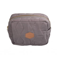 Filibabba - Little bag - Soft quilt Dark grey