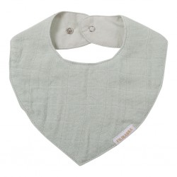 Filibabba - Muslin Bib - Light Mint - One size