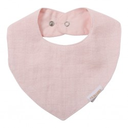 Filibabba - Muslin Bib - Light Rose - One size