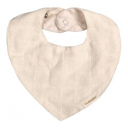 Filibabba - Muslin Bib - Nature white - One size