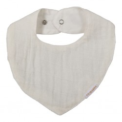Filibabba - Muslin Bib - White - One size