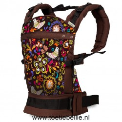 "Liliputi® Buckle Carrier Rainbow line - ""Folk-tale"""