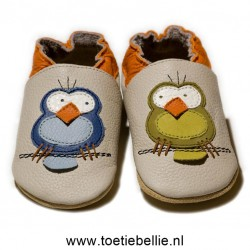 "Liliputi® Soft Baby Shoes ""Silent Birds"""