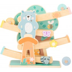 Marble Run in pastel colours