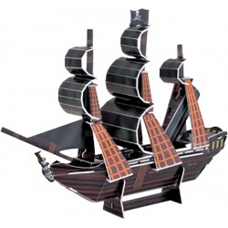 3D Puzzle Pirate Ship Pearl