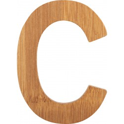 ABC Bamboo Letters C