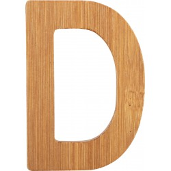 ABC Bamboo Letters D