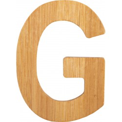 ABC Bamboo Letters G