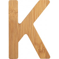 ABC Bamboo Letters K