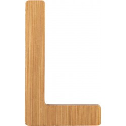 ABC Bamboo Letters L