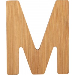 ABC Bamboo Letters M