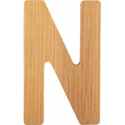 ABC Bamboo Letters N
