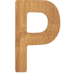 ABC Bamboo Letters P