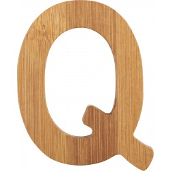 ABC Bamboo Letters Q