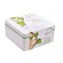 Lunch box Natur lime - klein