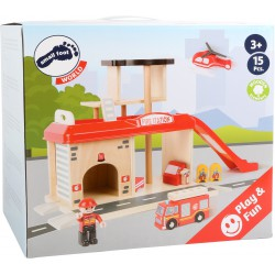 Firefighter Station with Accessories