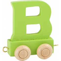Coloured Letter Train B