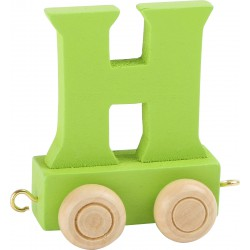 Coloured Letter Train H