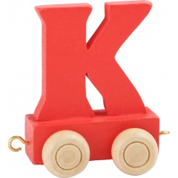 Coloured Letter Train K