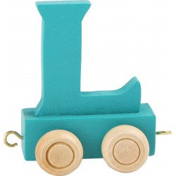 Coloured Letter Train L