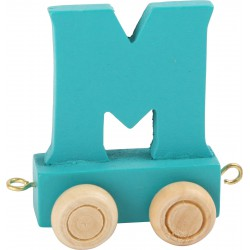 Coloured Letter Train M