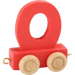 Coloured Letter Train O