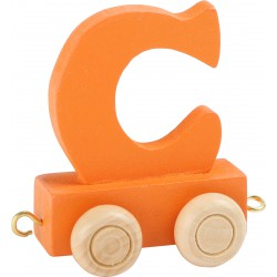 Coloured Letter Train C