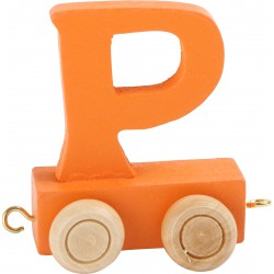 Coloured Letter Train P
