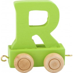 Coloured Letter Train R
