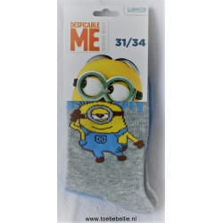 Minion socks 31/34