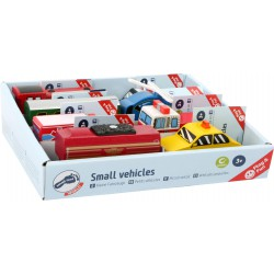 Set of 8 vehicles