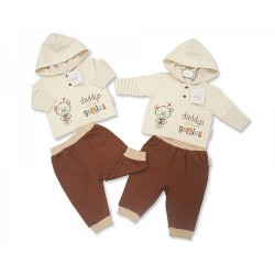 Baby Boys 2 pcs Set - Daddy's Little Genius