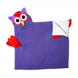 ZOOCCHINI Olive the Owl Hooded Towel