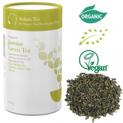 Solaris Organic Jasmine Green Tea - loose tea -- 100 g