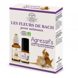 Bach flowers for agressive pets set -- 10/20ml