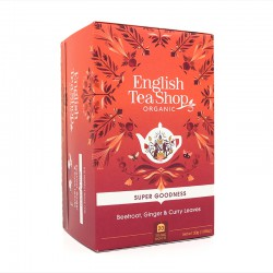 English Tea Shop Organic Beetroot, Ginger & Curry Leaves --