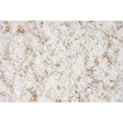 100 g sheep shearing wool flakes, organic