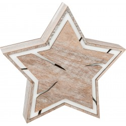 Compact Light-Up Star Tree Pit Design