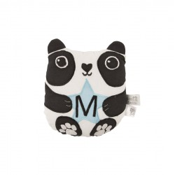 AIKO PANDA LETTER M MINI CUSHION