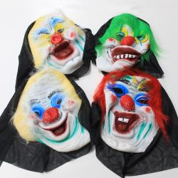 Scary Mask - Scary Clowns - Set of 4