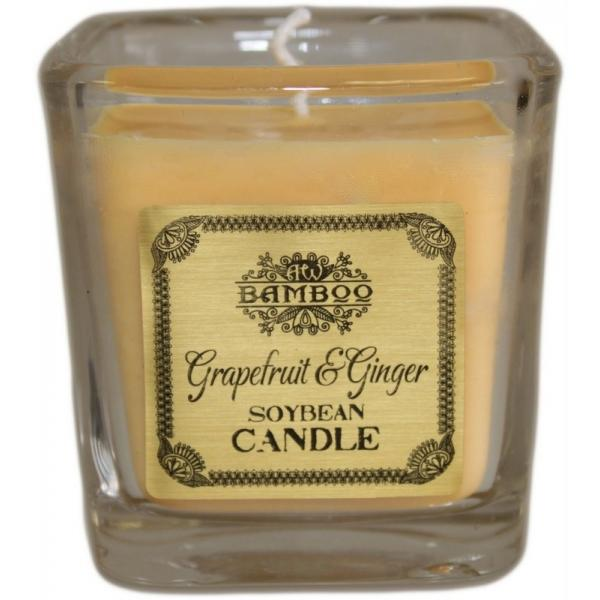 Grapefruit & Ginger -Soy Wax Jar Candle