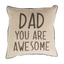 Dad You Are Awesome Square Cushion