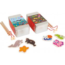 Fishing Game in a Gift Box, Set of 2